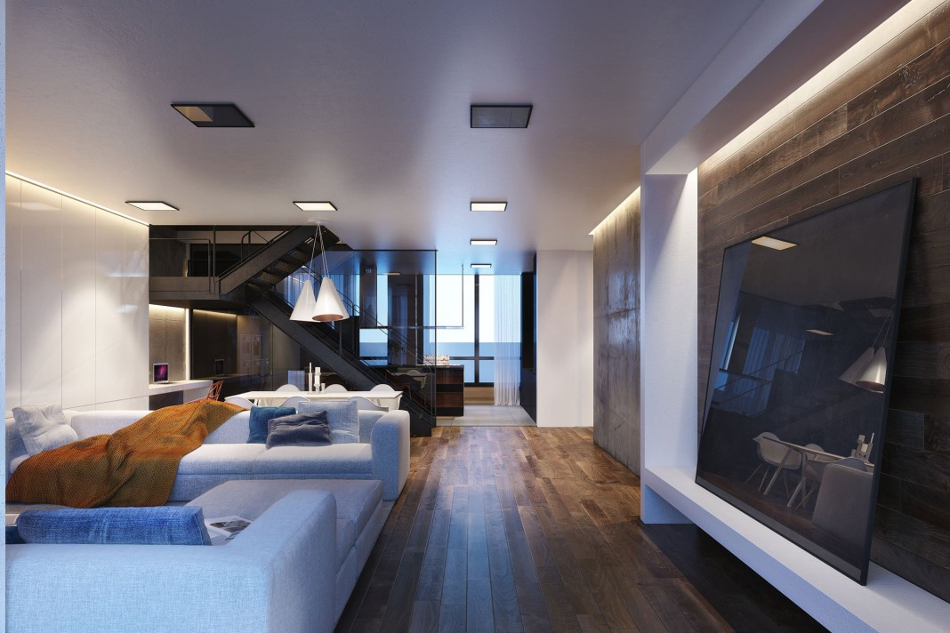 S Apartment Visualised by Igor Sirotov