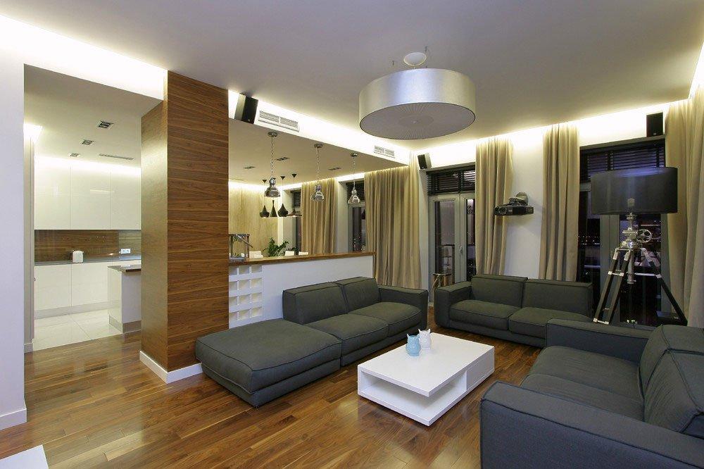 Spacious City Dwelling by SVOYA Studio