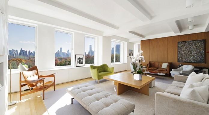 Sprawling Central Park Apartment by Shelton, Mindel & Associates