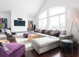 The Home of an Interior Designer by Susan Drover of SAM Design