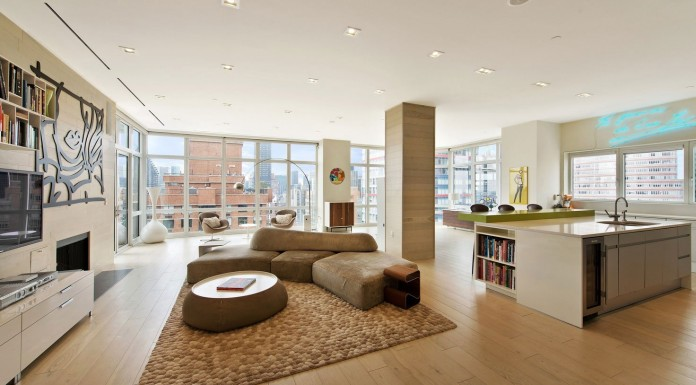 The Milan Post-War Penthouse Located in New York