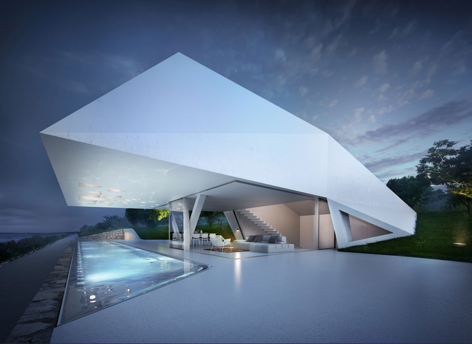 ultra modern architecture.  Modern Ultramodern Mediterranean Villa F By Hornung And Jacobi Architecture And Ultra Modern T