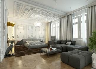 Unexpected Luxury Interior Design Visualized by Andrew Kudenko