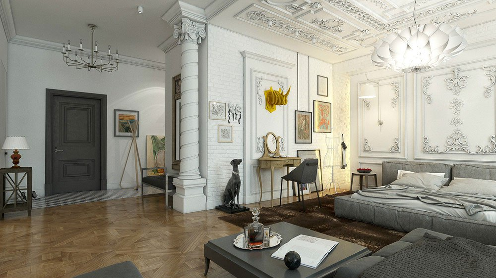 Unexpected Luxury Interior Design Visualized By Andrew
