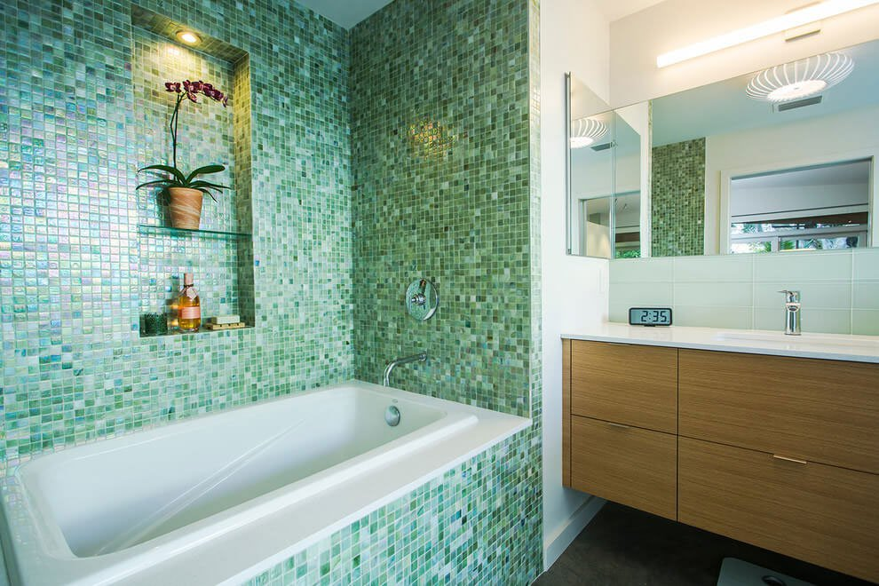 Kitchen Bath Remodel Gives Mid Century Home Modern Updates: Venice Island Mid Century By Dynan Construction Management