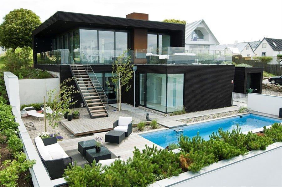 Modern Villa Nilsson in Öresund