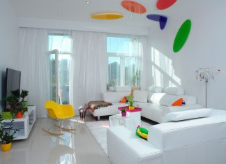 """Colourful """"We can dream in color"""" Residence by Margeza"""