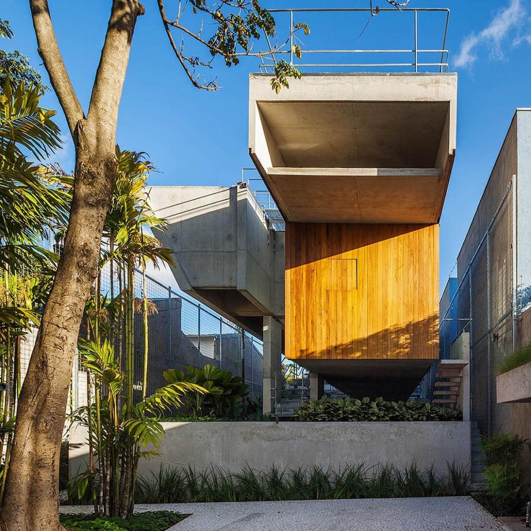 Weekend House in Downtown São Paulo by SPBR