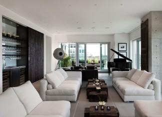 Yorkville Penthouse by Cecconi Simone Inc.