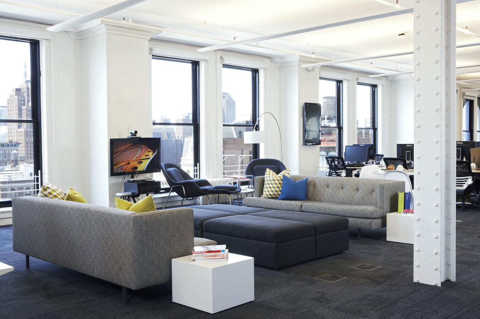 Foursquare's Soho HQ by Designer Fluff