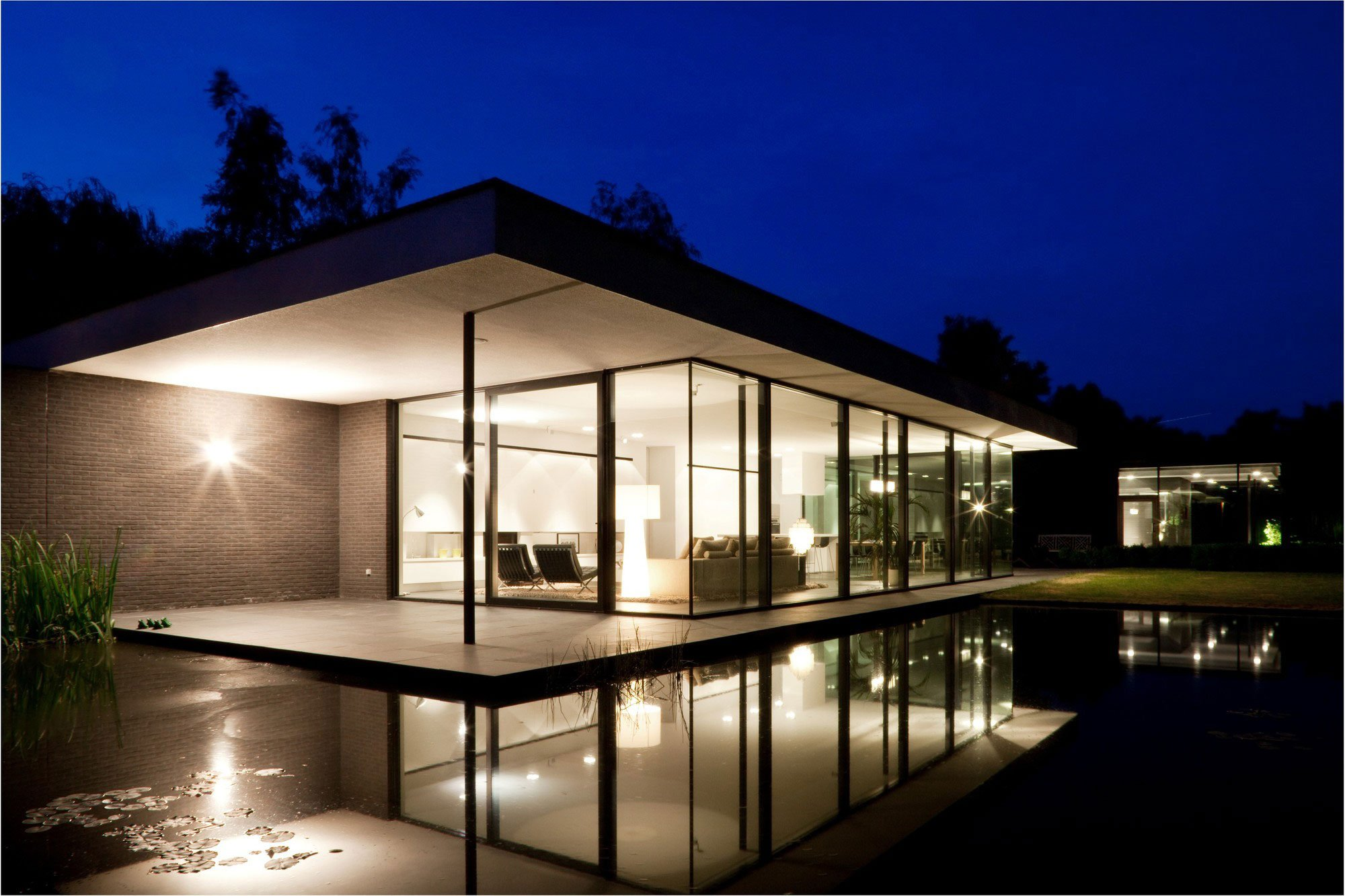 House Plans Glass Walls Images Modern House