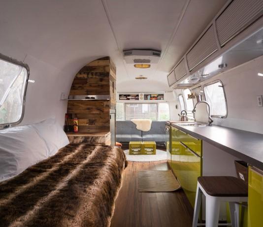 1976 Airstream Portable Home Renovation