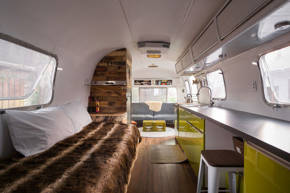 1976 Airstream Portable Home Renovation Caandesign