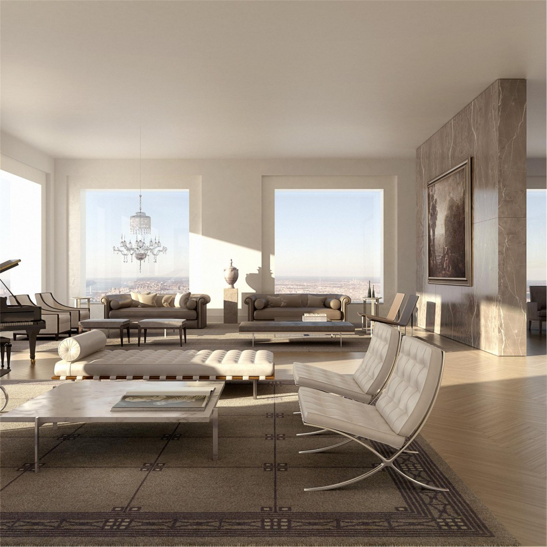 95 million dollar luxury penthouse in new york