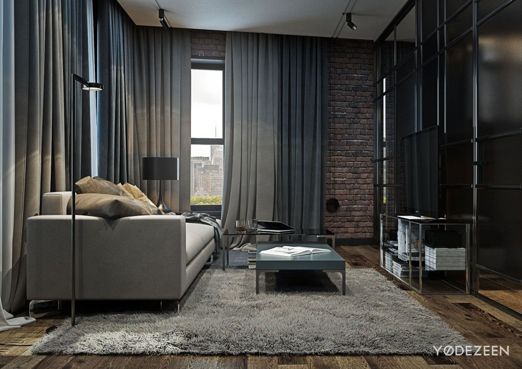 Loft Apartment In Brooklyn By Yodezeen