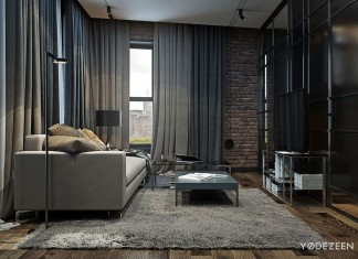 Loft Apartment in Brooklyn by YoDezeen