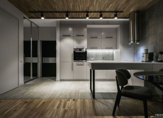 Stylish Modern Apartment in Kiev by YoDezeen