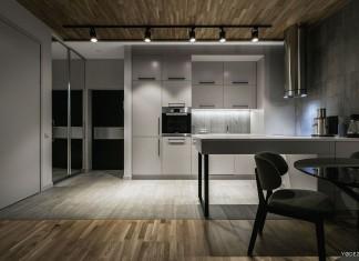 Stylish Modern Apartment in Kiev by YoDezeen