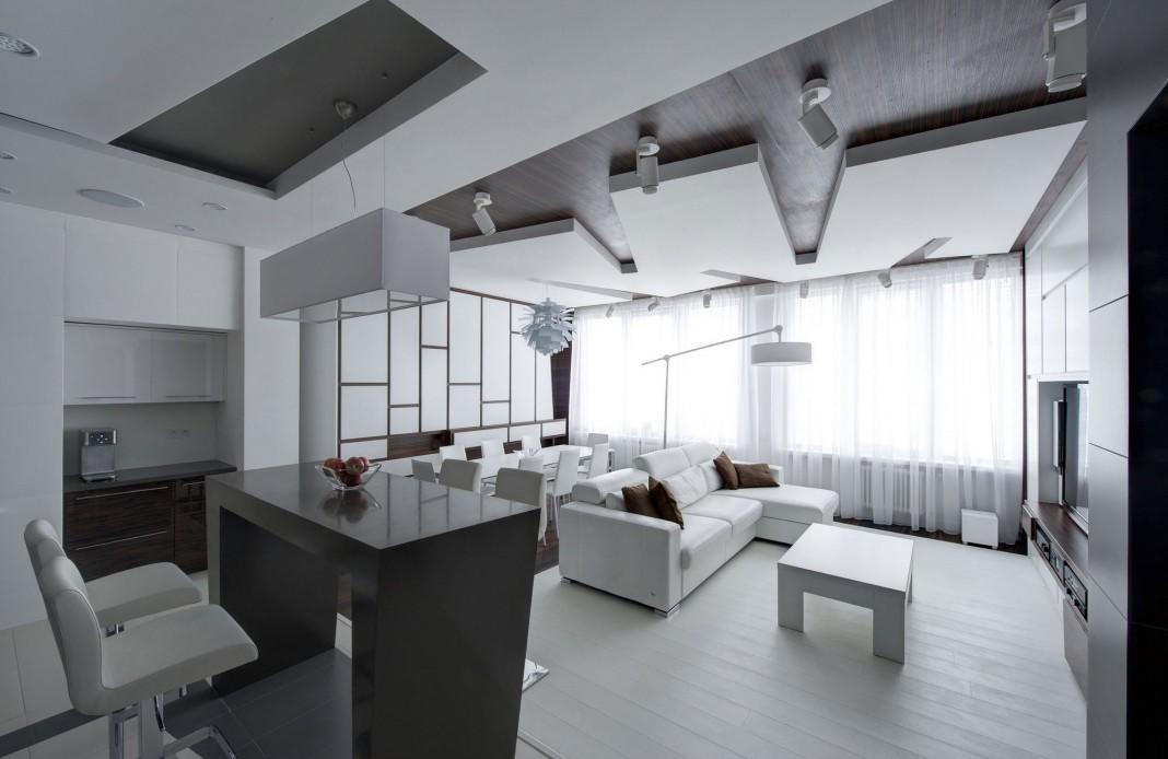 Apartment Renovation In Moscow By Vladimir Malashonok