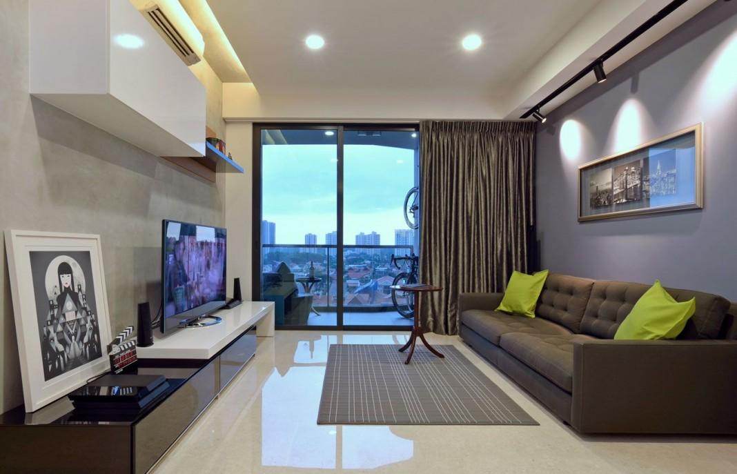 Dakota Crescent Apartment by KNQ Associates