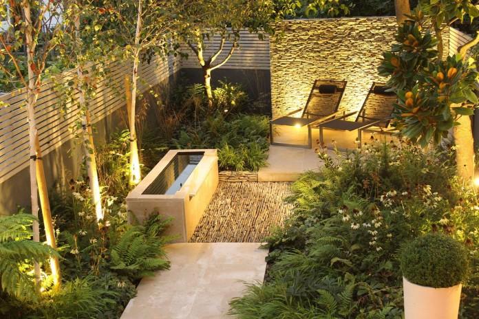 Barnsbury Townhouse Garden by Daniel Shea