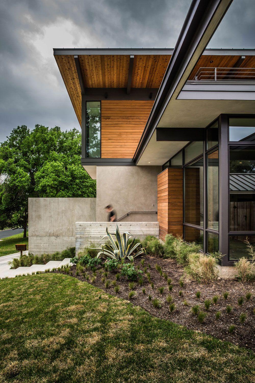Ultramodern exterior design of the house