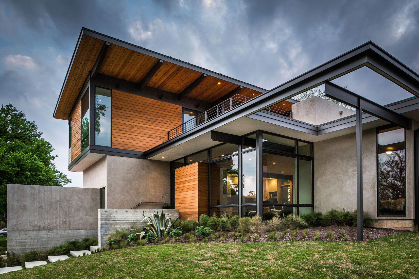 the modern Barton Hills Residence