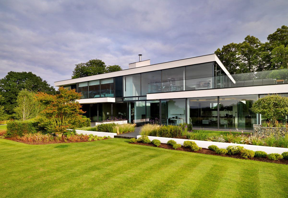 House design near river - Modern Berkshire Home Near River Thames By Gregory Phillips Architects