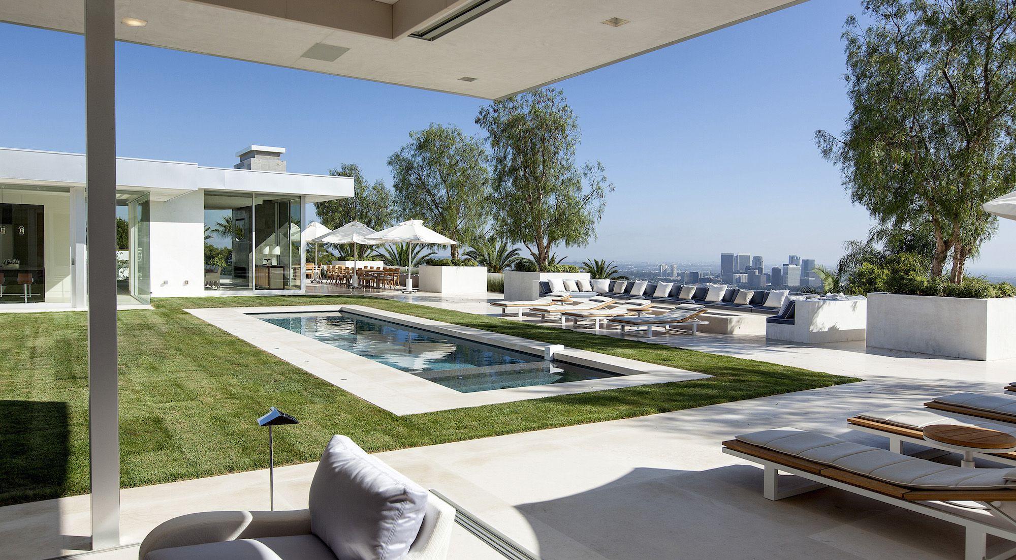 Beverly Hills House By Mcclean Design Caandesign