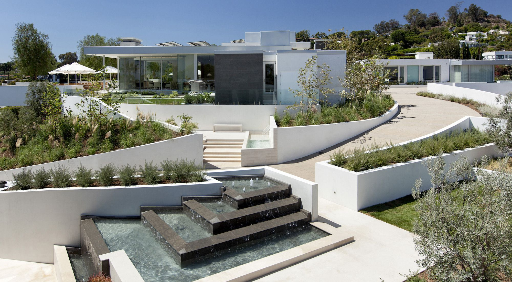 Beverly Hills House By Mcclean Design Caandesign