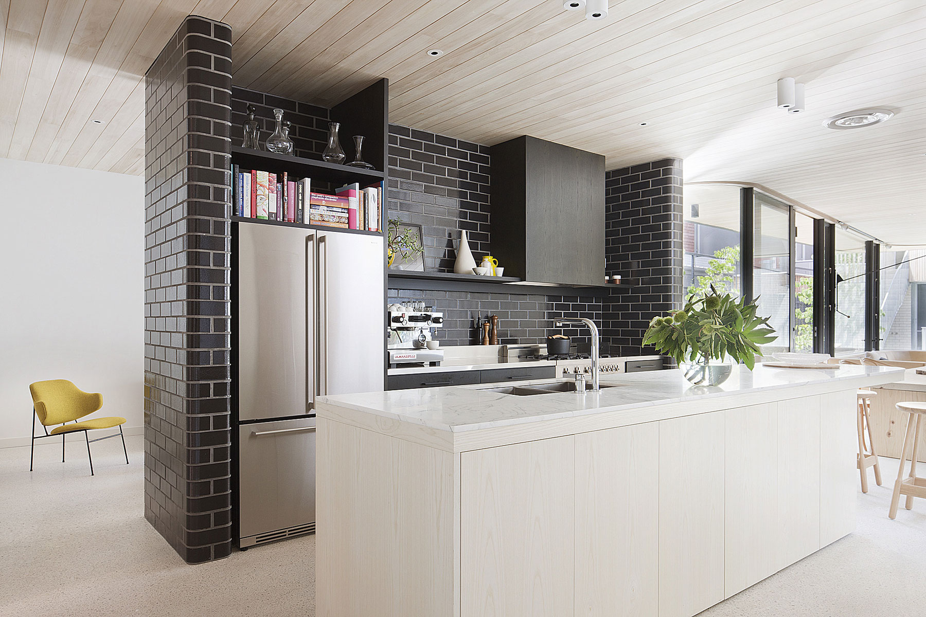 Brick House by Clare Cousins Architects-13