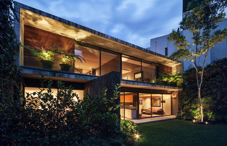 Sierra leona house by jos juan rivera r o caandesign for Construcciones de casas modernas
