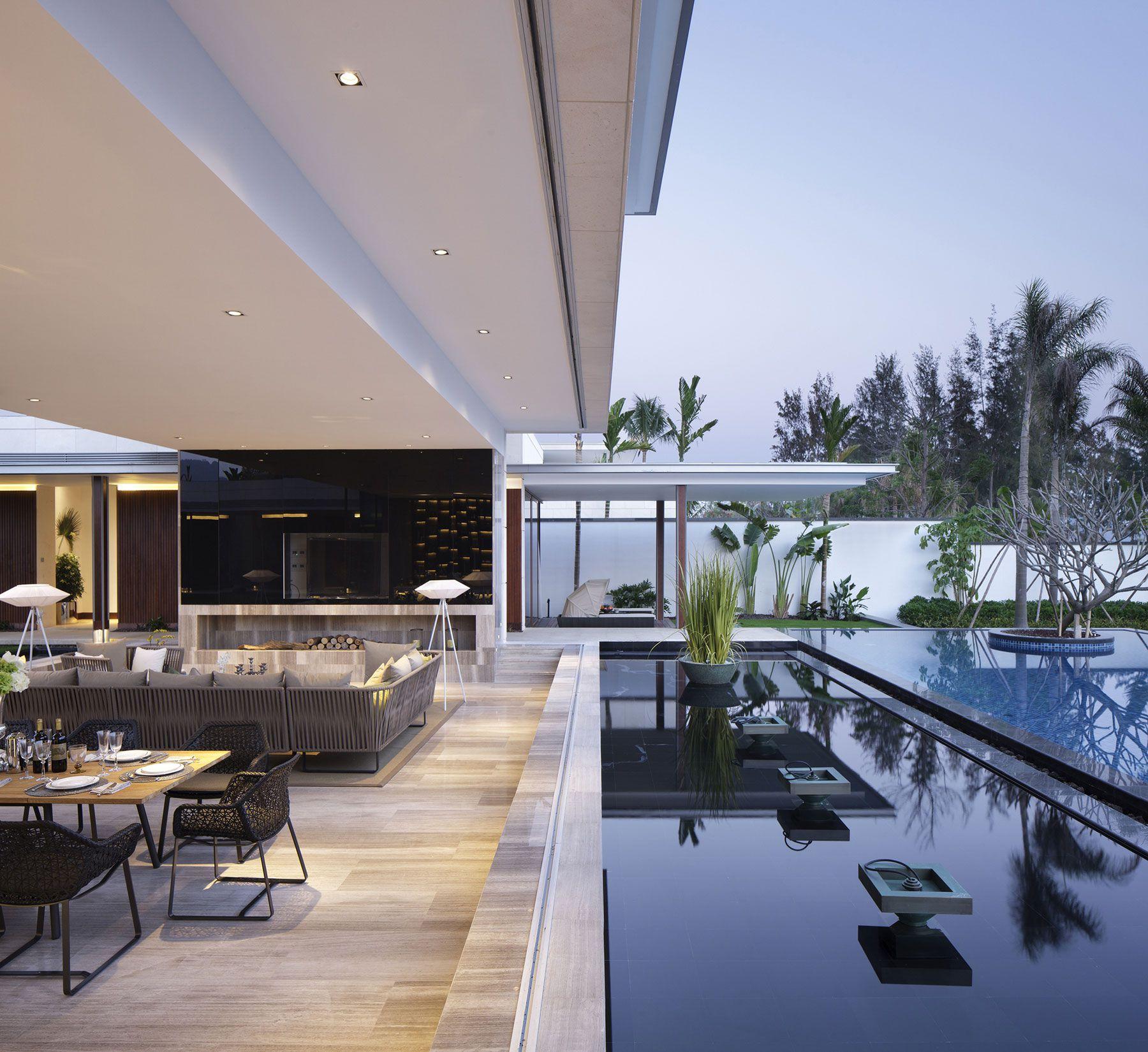 Reformed Sf Loft By Wardell Sagan Projekt: Luxury Ultramodern Chenglu Villa By Gad