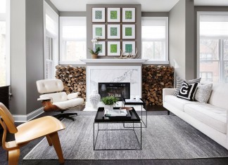 Chic and Modern Townhouse in Chicago by Gabriel Fontes de Faria