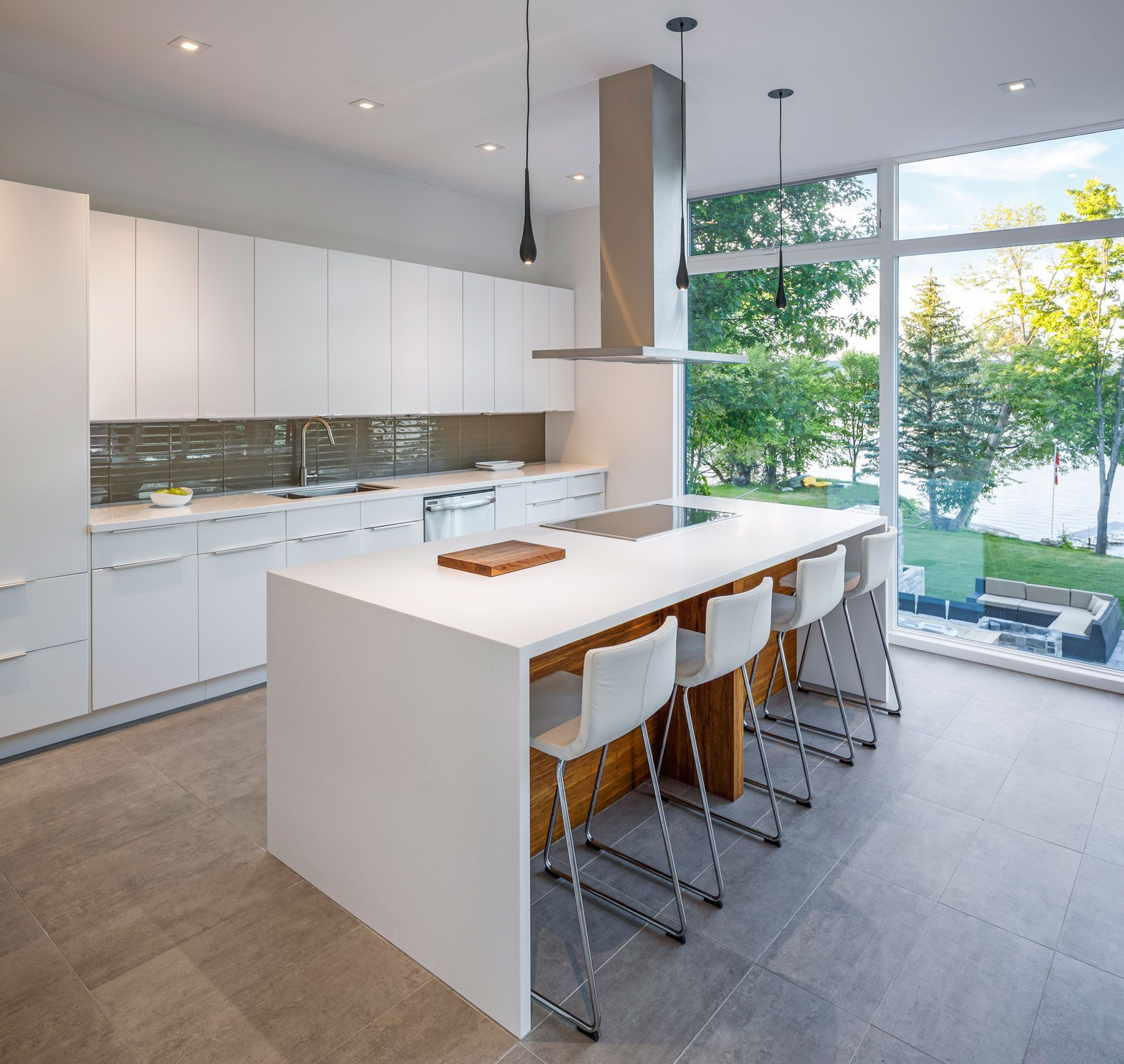 Contemporary Dunrobin Shore Residence-09