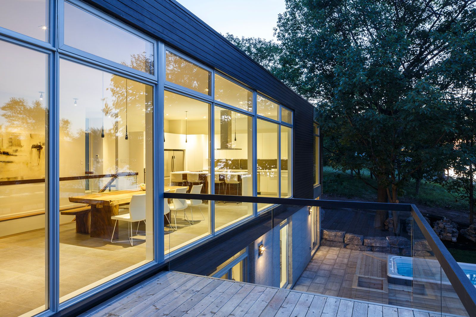 Contemporary Dunrobin Shore Residence-20