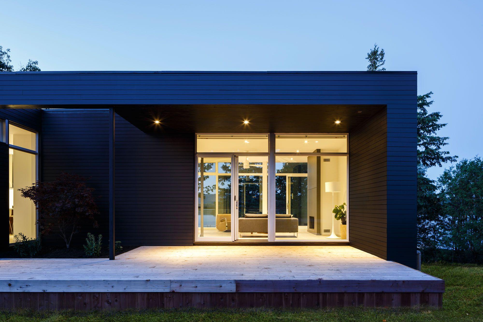 Contemporary Dunrobin Shore Residence-21