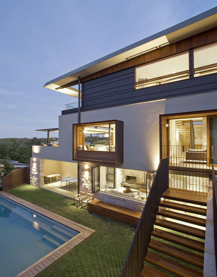 Contemporary Middle Harbour House Design-15