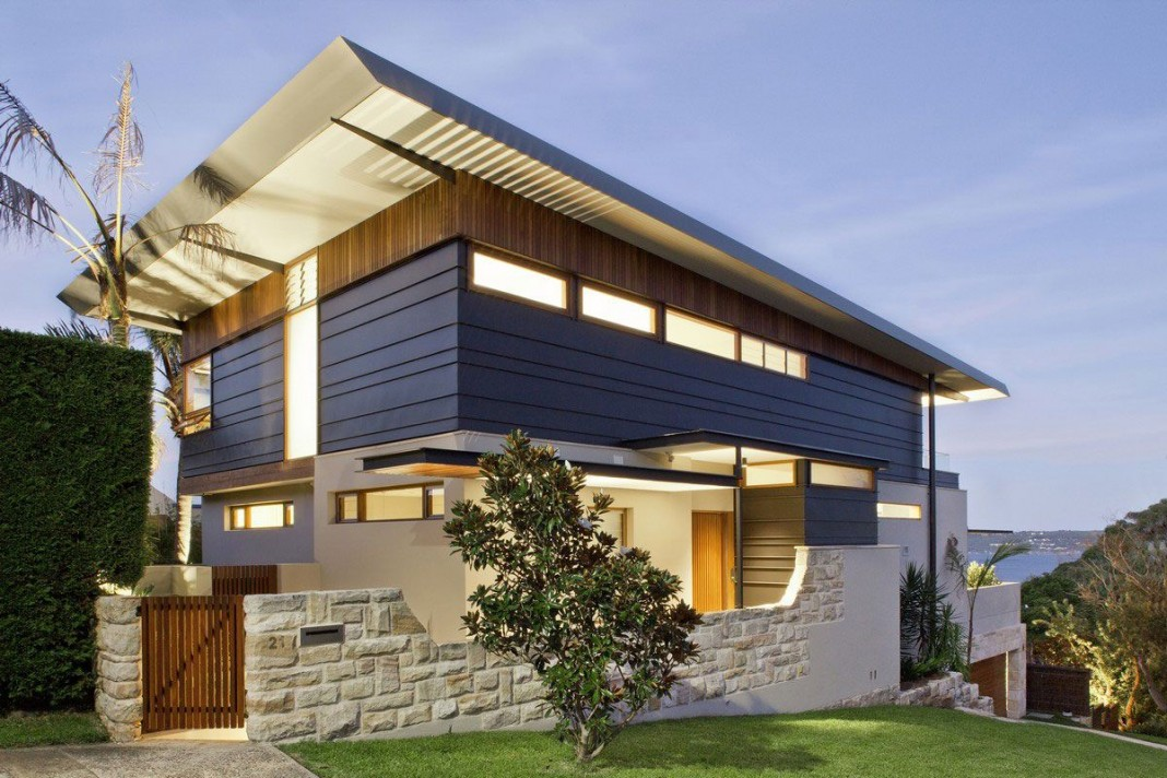Contemporary Middle Harbour House Design by Richard Cole Architecture