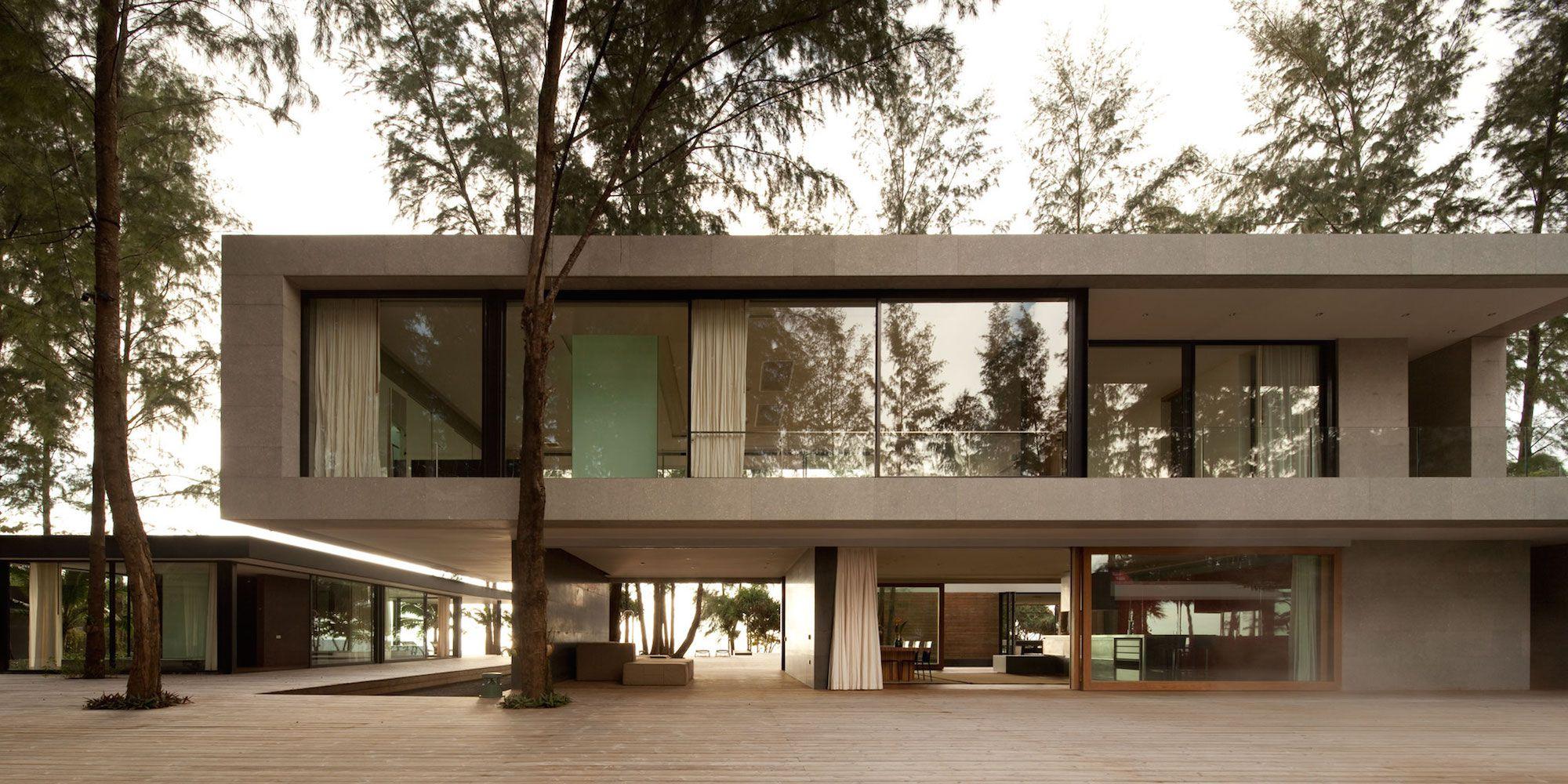 Contemporary villa noi by dbalp caandesign for Contemporary villa