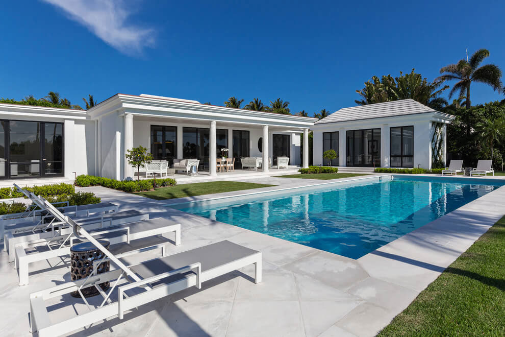 Contemporary White Estate in Palm Beach Keating Moore-03