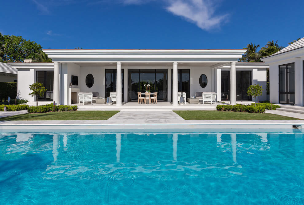 Contemporary White Estate in Palm Beach Keating Moore-05