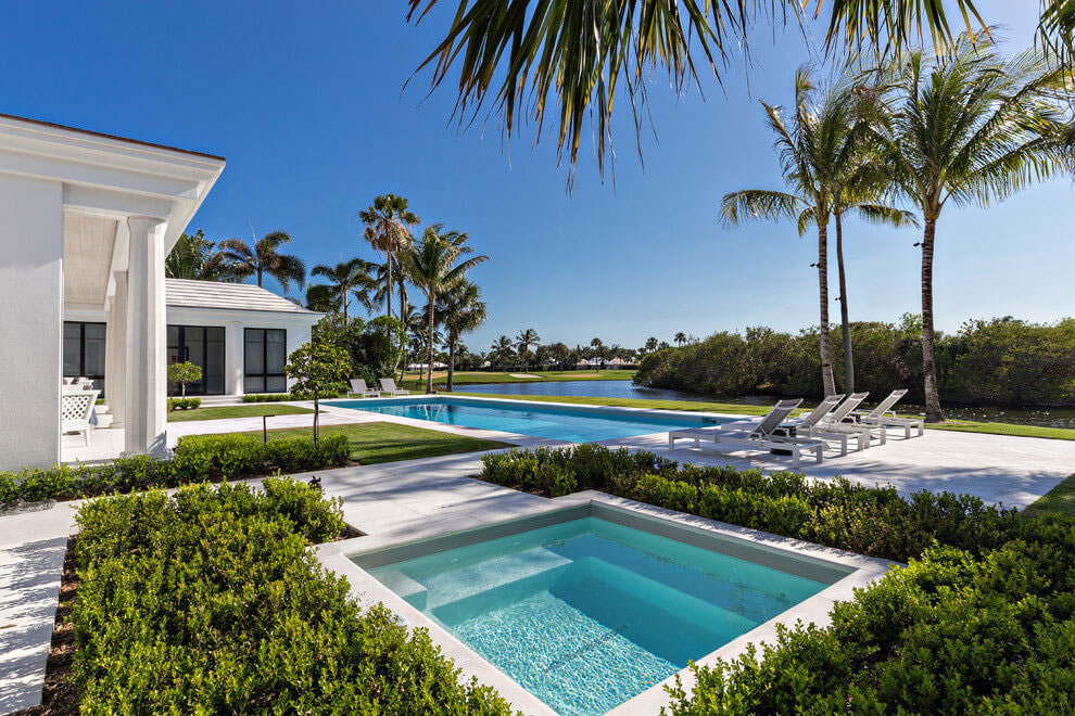 Contemporary White Estate in Palm Beach Keating Moore-06