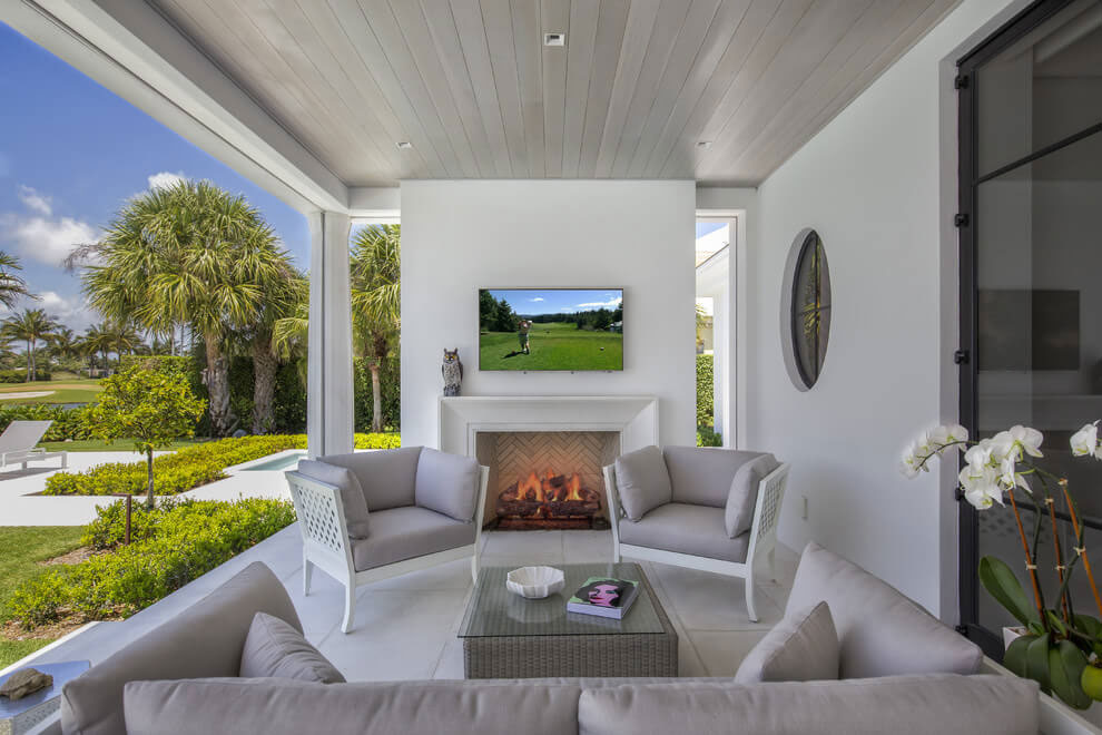 Contemporary White Estate in Palm Beach Keating Moore-08