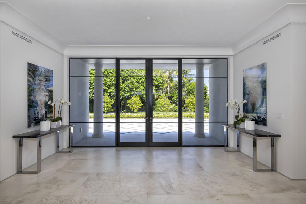 Contemporary White Estate in Palm Beach Keating Moore-09