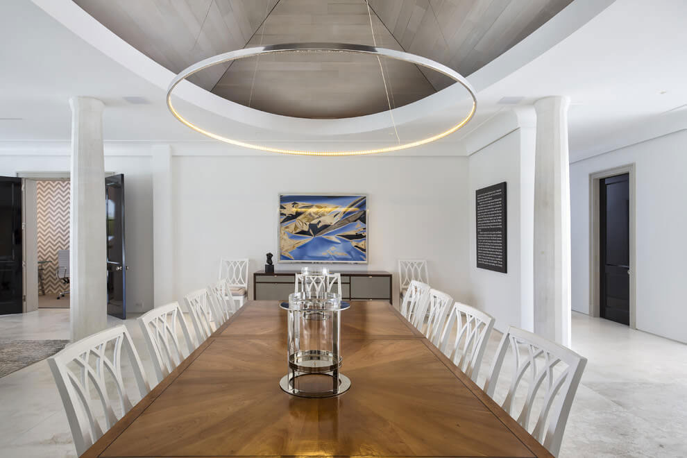 Contemporary White Estate in Palm Beach Keating Moore-17