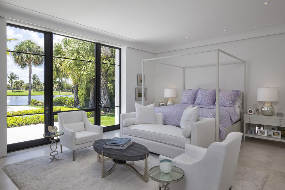 Contemporary White Estate in Palm Beach Keating Moore-18