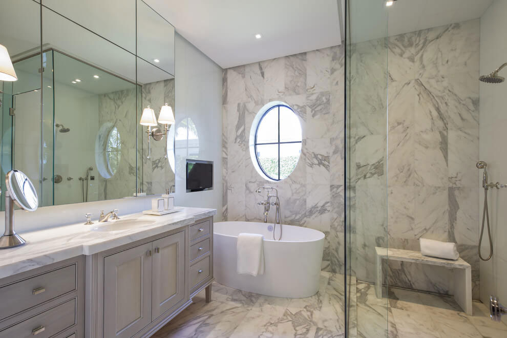 Contemporary White Estate in Palm Beach Keating Moore-19