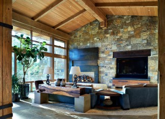 Stoneview Home & Art Barn by Barrett Studio Architects