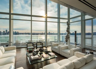 165 Charles Street Penthouse in the Meatpacking District by Richard Meier